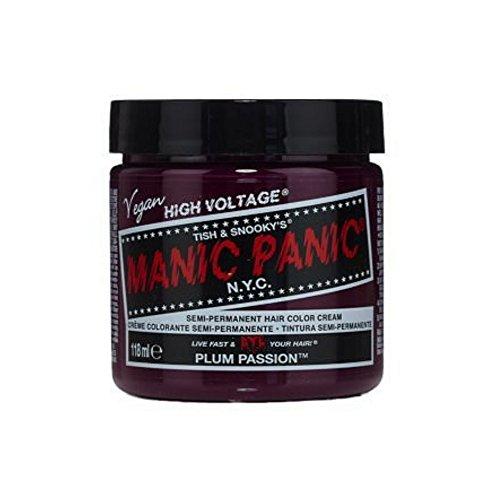 Haarfarbe Ausspülen (Plum Purple Passion 4 Oz Manic Panic Haarfarbe ...)