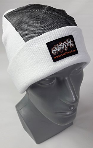 Swift Rock Classic Break Dance Headspin Beanie (Weiß / White)