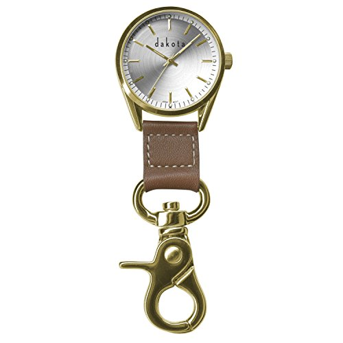 dakota-watch-company-classic-dress-clip-watch-with-gold-case-leather-fob-by-dakota-watches