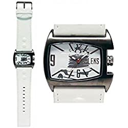 Dr Who Men's Quartz Watch with White Dial Analogue Display and White PU Strap DR172