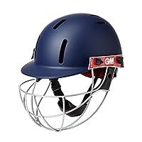 GM Cricket Unisex-Youth GM (5018) PURIST GEO CRICKET HELMET, Navy, Jnr/Small
