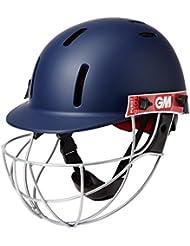 GM Purist Geo II Casco da Cricket, Unisex, Purist Geo II Helmet, Navy, Adulto