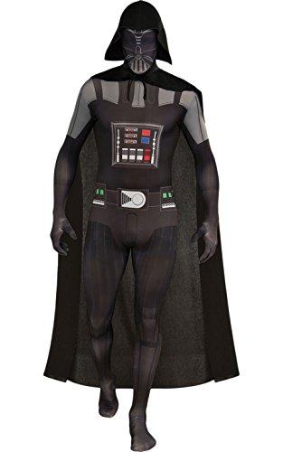 d Skin Darth Vader - Kostüme für Erwachsene, M (Comic Kostüme Erwachsene)