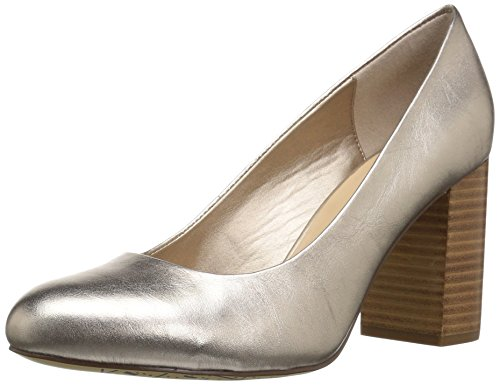 Bella Vita Women's NARA Pump, Champagne Leather, 12 W US -