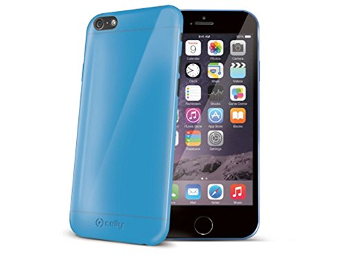 Celly Cover in TPU per iPhone 6, Viola Azzurro Blu
