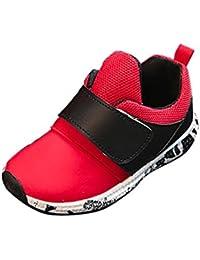 Topgrowth bambini Luminoso Scarpe Sportive Sneakers con Luce Bambino Lampeggiante Sneakers Cavo Traspirante Scarpe