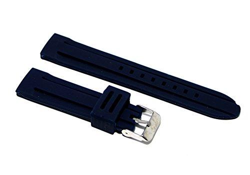 Cinturino in gomma blu 3 per orologio ansa 22mm...