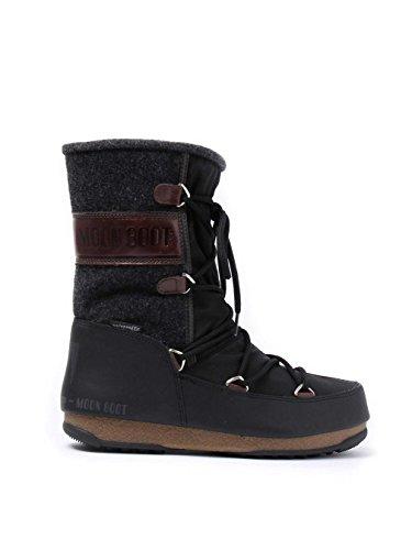 Moon Boot Winterstiefel Black/Dark Brown