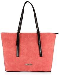 Caprese Delphy Women's Tote Bag (Red)