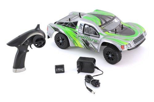 XciteRC 30407000 RC Auto Shortcourse one12 - 2WD Ready To Race Modellauto, grüne Karosserie 1:12 mit 2.4 GHz Fernsteuerung - 4