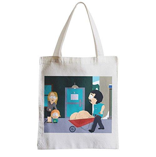 fabulous Große Tasche Sack Einkaufsbummel Strand Schüler South Park Randy Marsh Bälle Bälle