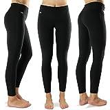Formbelt® Damen Laufhose mit Tasche lang - leggins Yoga-Hose stretch-hose hüfttasche für Smartphone Iphone Handy Schlüssel