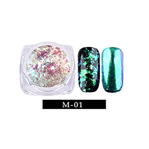 Nail Flash Powder Art Gorgeous Chameleon Mirror Powder Manicure Chrome