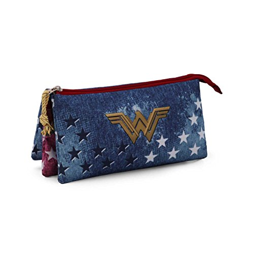 Karactermania Wonder Woman Radiant Estuches, 24 cm, Azul