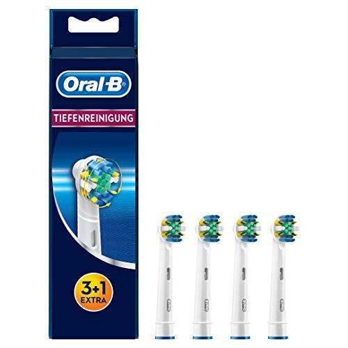 Oral-B Tiefenreinigung Aufsteckbürsten, Für eine überlegene Tiefenreinigung in den Zahnzwischenräumen, 3+1 Stück