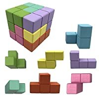 Toys Magic Cubes Blocks for Kids Building Blocks Bricks Toy Stress Relief Educational Puzzles