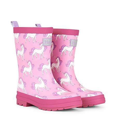 Hatley Kids Matte Rain Boots - Unicorn Doodles
