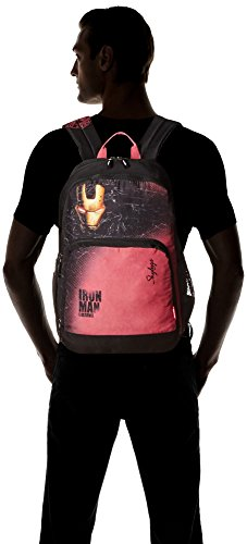 Skybags SB Marvel 35 Ltrs Red School Backpack (SBMACIN5RED)