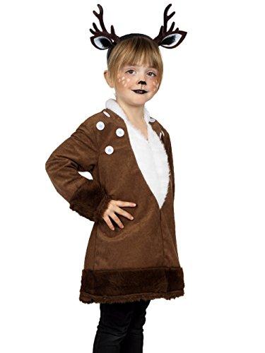 Reh Kleid exklusives Kostüm Goldschmidt Kostüme Kinder Rehkleid (164)