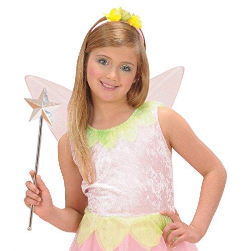 NET TOYS Feenstab mit Stern Zauberstab 3D Fee Sternenstab Märchen Stab Prinzessinnenstab Fantasy Prinzessin Königin Braut JGA Kostüm Zubehör (Fantasy Braut Kostüm)
