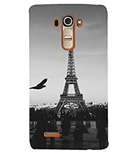 PRINTSHOPPII EIFFEL TOWER Back Case Cover for LG G4::LG G4 H815