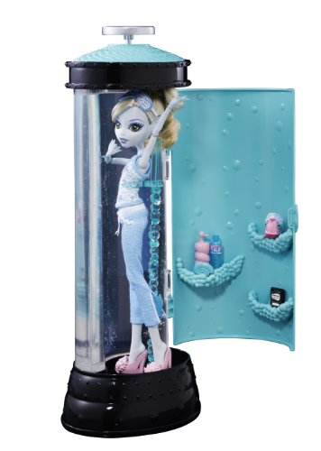 Imagen 1 de Monster High V7963 - Muñeca Lagoona Blue con Hidrocápsula Luminosa (Mattel) - incluye muñeca