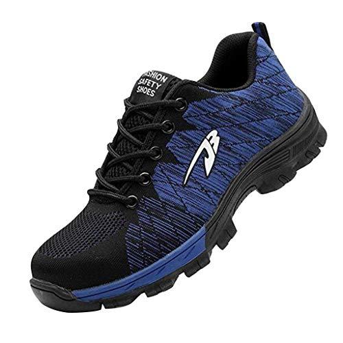 Work Steel Toe Shoes Sicherheitsschuhe Für Herren Und Damen Leichter Schuh Für Den Industriebau Outdoor Sportschuhe Men Yebutt (Men's Alpine Kostüm)