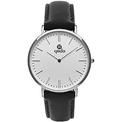 Qudo Eterno Black/Silver/White Women's watch 803500