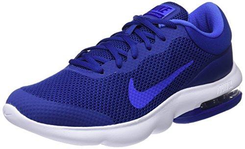 Nike Air MAX Advantage, Zapatillas de Entrenamiento para Hombre, Azul (Deep Royal Blue/Light Racer Blue-Obsidian 401), 42 EU