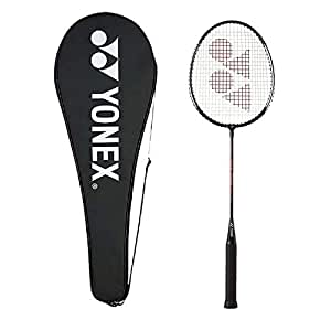 Yonex GR 303 Aluminum Blend Badminton Racquet with Full Cover (Black)