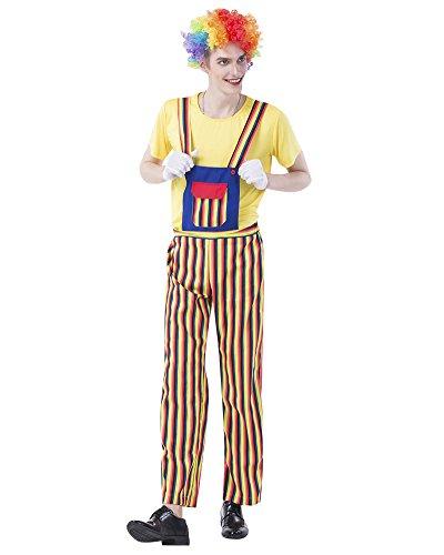 Imagen de disfraz joker halloween hippie divertidos hombres mujer disfraces de carnaval cosplay payaso 1839 s