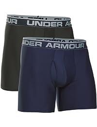 Under Armour O Series 6'' Boxerjock 2 Pk-blk//blk - Lot de 2 caleçons de sport - Homme