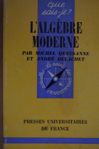 L' Algbre Moderne. Collection