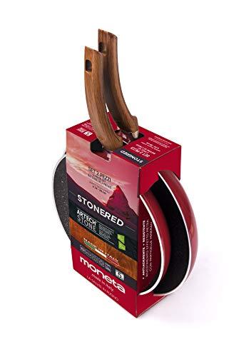 Monnaie Set poêles 24 + 28 Cervinia Red Pad.24 + 28 cm, aluminium, Rouge