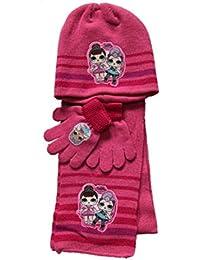 LOL Surprise Set Invernale Bambina Cappello + Sciarpa + Guanti 410afd4f7b36