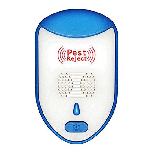 Ultraschall-Schädlingsbekämpfungsgerät Variable Frequenz elektronische Plug In Repellent Indoor für Moskitos, Insekten, Ratten, Mücken, Bugs, Spinnen, Nagetiere