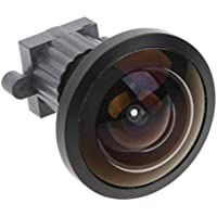 D DOLITY Reemplace 2MP 7G + IR M12 Piezas de Reparación de Lentes DV con Movimiento Gran Angular de 165 Grados: Fácil de Instalar y Usar