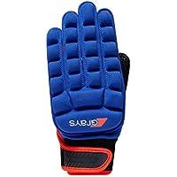 Grays Hockey internacional Pro mano izquierda guante–azul/rojo–medio
