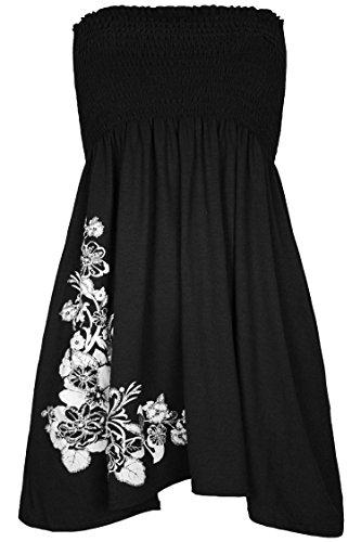 Unknown Damen Kleid X-Large Schwarz