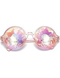 21d3c77be2 Paseo Gafas de sol facetadaspaseo Gafas de sol facetadas Gafas de  caleidoscopio Gafas de mosaico Festival