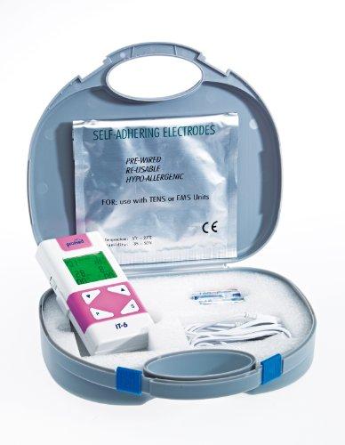 Promed IT-6,  TENS-Gerät mit Vaginalsonde, 4 Elektroden, Inkontinenzgerät, Beckenbodentraining
