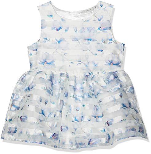 NAME IT Baby-Mädchen NMFFREIA Spencer Kleid, Weiß Snow White, (Herstellergröße: 80)