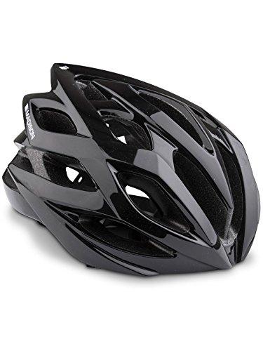 Madison Fahrradhelm Peloton Gloss Schwarz (Medium, Schwarz) -
