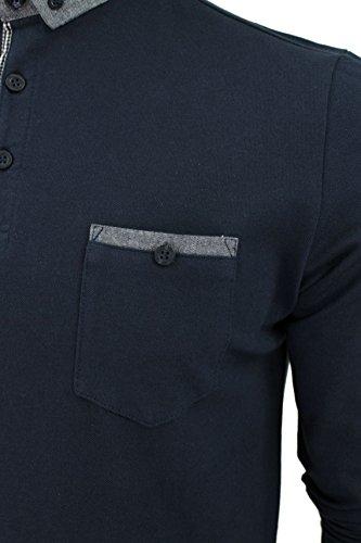Brave Soul Pique-Poloshirt 'Hera' Marine