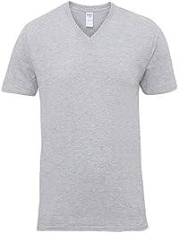 Gildan Premium - T-shirt à col V - Homme