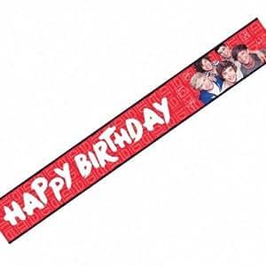 Amscan International 3.6m One Direction Foil Banner
