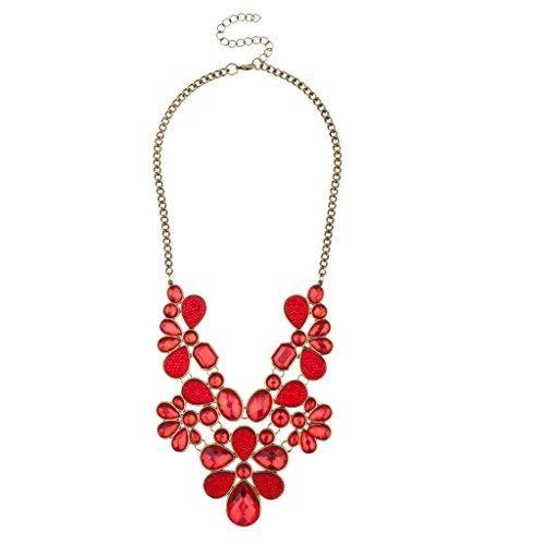 lux-accesorios-floral-rojo-piedra-declaracion-collar-y-pendientes-a-juego-con