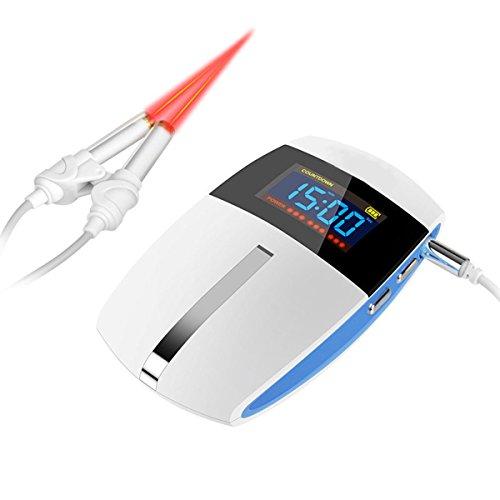 NSHK Nasen-Reinigungs-Nasenwasch-Laser-Nasentherapie-Ausrüstung der Halbleiter-Typen-Nasen-Massagegerät-Heilung für Erwachsene Oder Jugendlicher Allergische Rhinitis-Leichtigkeit für Haus mit