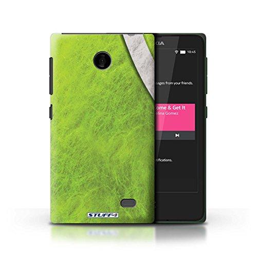 Kobalt® Imprimé Etui / Coque pour Nokia X / Tennis conception / Série Balle Sportif Tennis