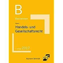 Basiswissen Handels- und Gesellschaftsrecht